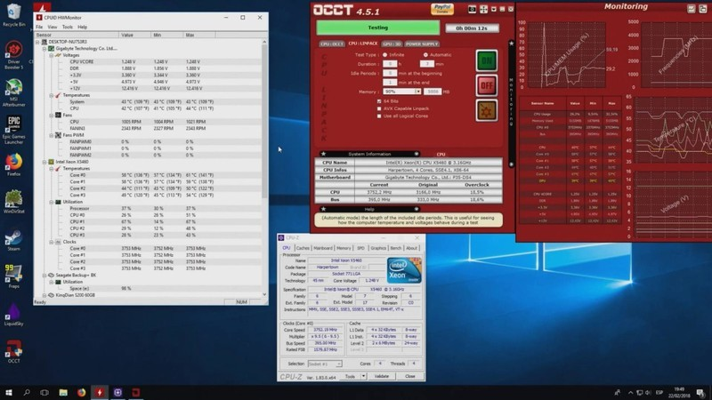 Overclocking the €15 modded Xeon CPU from 2007 using liquid cooling