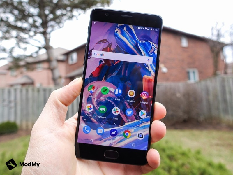 An early AOSPA build for the OnePlus 3 and OnePlus 3T has