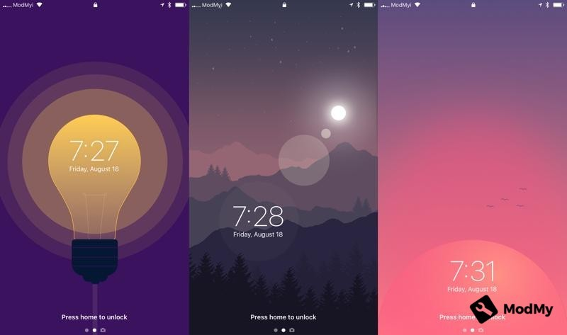 Customise the clock on your iOS lock screen with TimeMover
