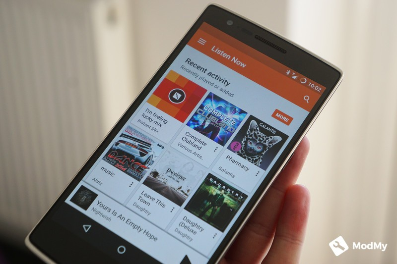 Play Music v8 5 receives a small visual refresh and drops