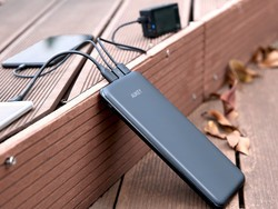 This 20000mAh power bank can charge four things at once and is only $32