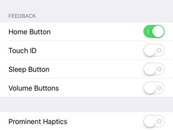 Add haptic feedback to your iPhone's buttons with Erie