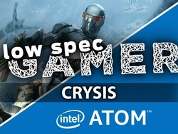 Crysis ultra-reduced graphics run on an Intel Atom PC