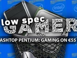 Gaming on a €55 Intel-powered PC is indeed possible