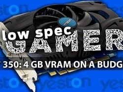 Yeston Radeon R7 350 is a $100 Graphics Card with 4GB of VRAM!