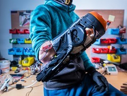 These guys turned a Nerf gun into a super cool prosthesis