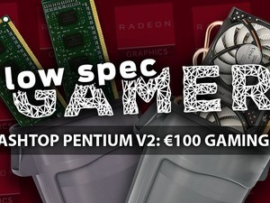 The €100 Gaming PC, The TrashTop Pentium V2, is here