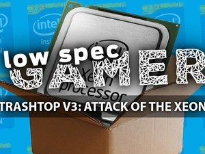 Gaming with a €15 modded Xeon CPU from 2007