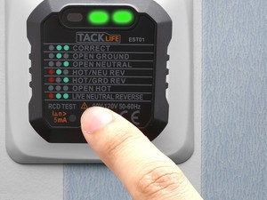 This $5 outlet tester help you diagnose electrical problems