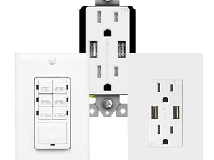 TopGreener's popular USB wall receptacles and more are on sale today only